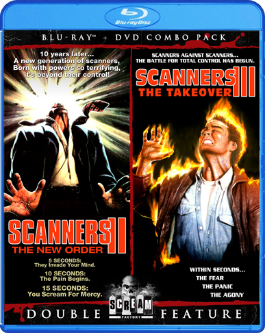 Scanners Double Feature Blu-Ray