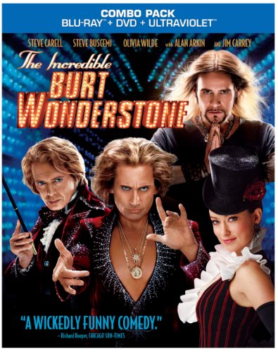 Own <EM>The Incredible Burt Wonderstone</EM> on Blu-ray Combo Pack, DVD and Digital Download 6/25